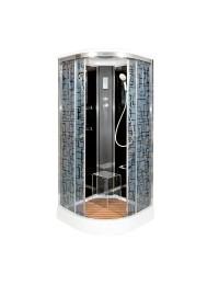 Душевая кабина Deto BM 1510 с электрикой (100х100х220)