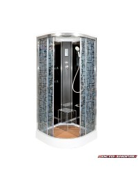 Душевая кабина Deto BM 1590 с электрикой (90х90х220)