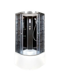Душевая кабина Deto BM 4510 с электрикой (100х100х220)