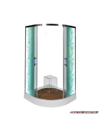 Душевой уголок Deto C 01 LED (100x100х200)