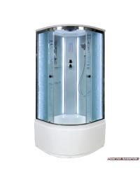 Душевая кабина Deto EM 4510 LED с led подсветкой (100х100х220).
